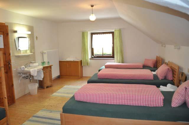 Die Zimmer im Alpengasthof Lüsens