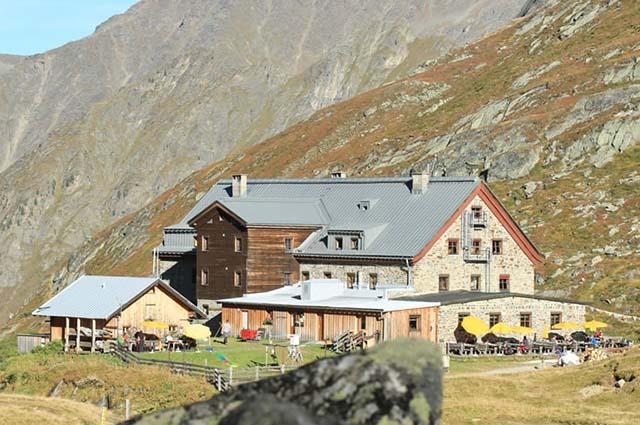 Die schöne Franz Senn Hütte