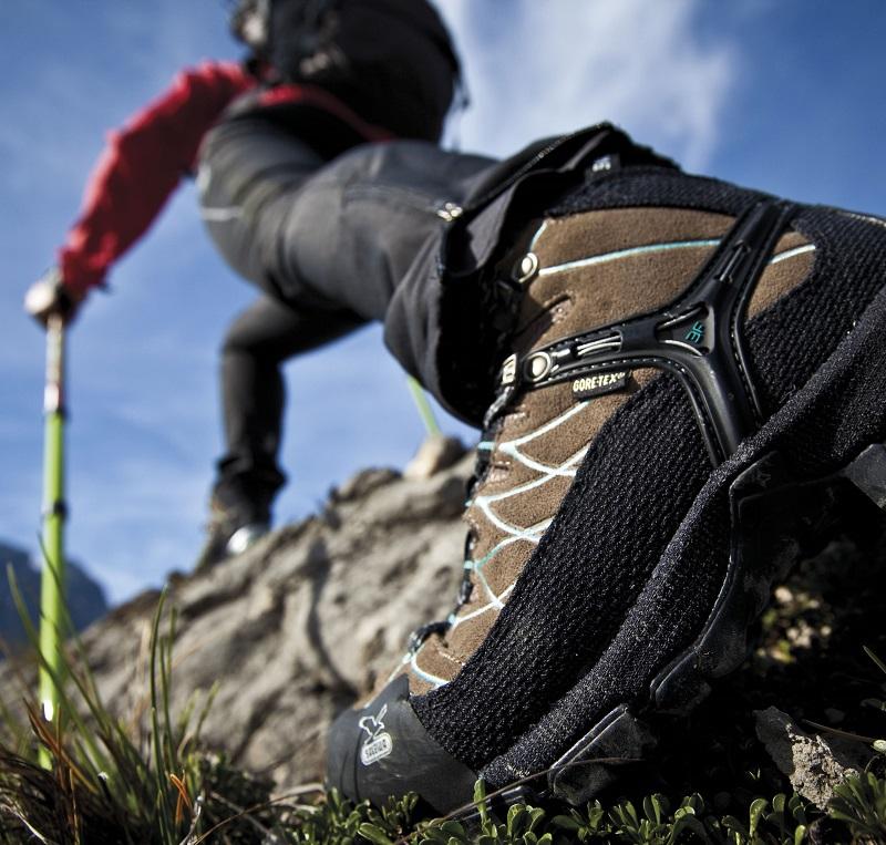 Alpenüberquerung Alpinschule Garmisch Bergschule - gutes Schuhwerk ist ein Muss!