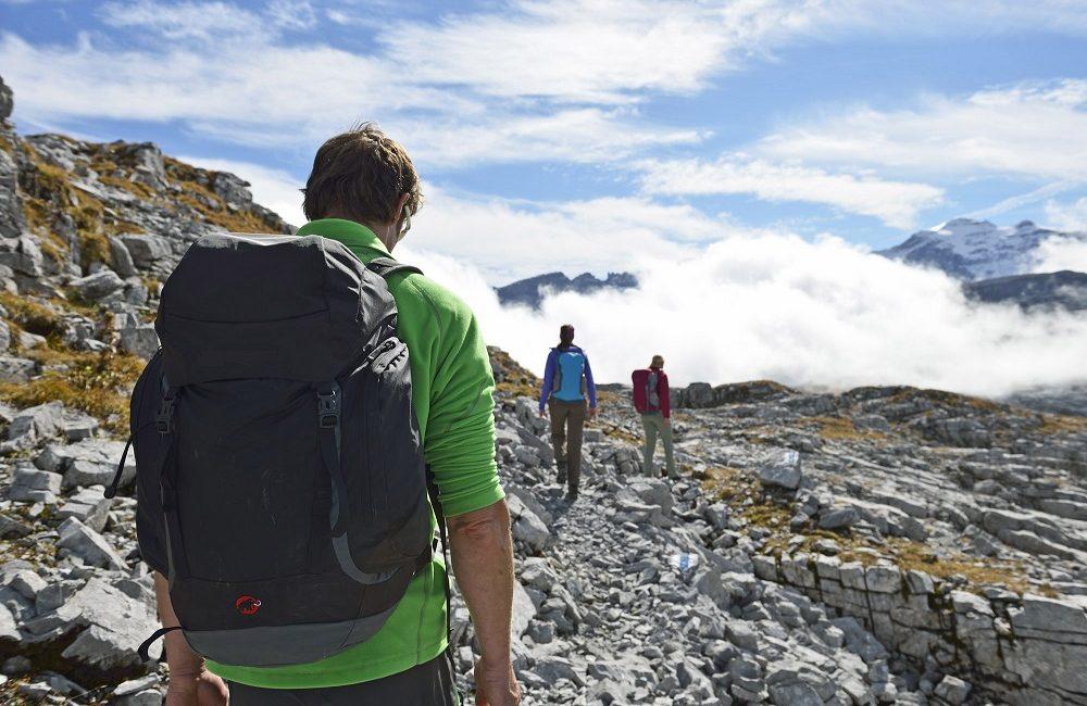 Auf Wanderschaft in herrlicher Berglandschaft